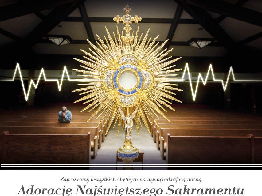 Nocna Adoracja Najświętszego Sakramentu (Grudzień 2020)
